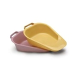 Fracture Bedpan Medical Action INC. Bedpan Plastic Mauve