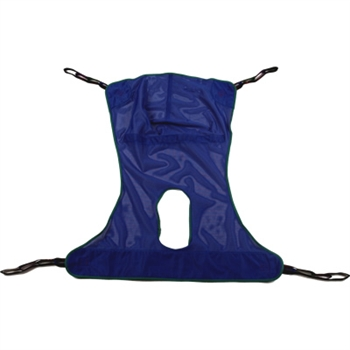 Invacare Full Body Mesh Sling with Commode Large