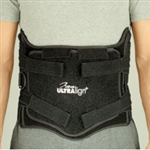 DeRoyal Ultralign Plus Lumbar Sacral Orthosis Low Profile Tapered