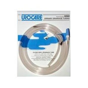 Urocare Clear Vinyl White Rubber Drainage Extension Tubing URO6018