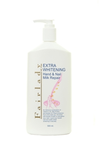 Fairlady Extra Whitening Hands and Nail Milk 500ml