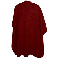 sewicob vincent haircutting cape - heat stamp red