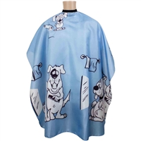 sewicob vincent kiddie child haircutting cape - youth puppy
