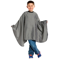 scalpmaster kiddie cape - barber stripes
