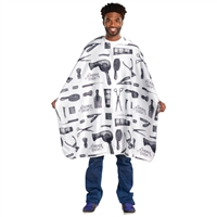 scalpmaster barber styling cape