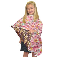 marianna reversible nylon kiddie cape