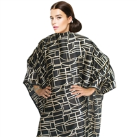 cricket haircutting cape - art deco