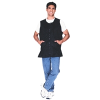 scalpmaster nylon barber vest - black