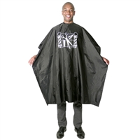 scalpmaster nylon barber cape with imprint