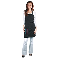 salonchic convertible salon apron - soft black