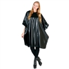 betty dain jumbo vinyl shampoo cape - black