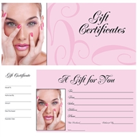 dl pro book of 50 gift certificates