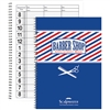 scalpmaster barber appointment book 3 column