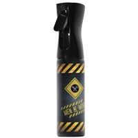 delta industries continuous mist spray water bottle 10 oz men at work