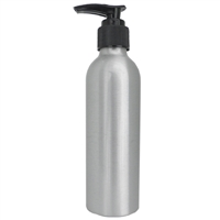 soft 'n style aluminum lotion dispenser bottle - 5 oz