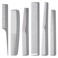 aristocrat heat resistant comb set - 6 pc