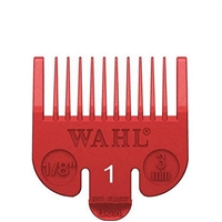 wahl color-coded clipper guide - #1 red