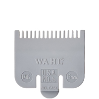 wahl color-coded clipper guide - #1/2 light gray