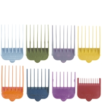 wahl colored cutting guides - 8 pack