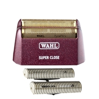wahl 5 star shaver/ shaper super close gold foil & cutter bar assembly