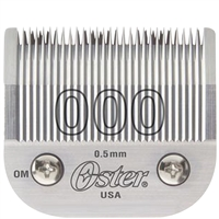 oster 000 detachable clipper blade