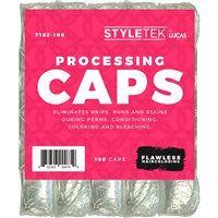 styletek hair processing caps - 100 pc