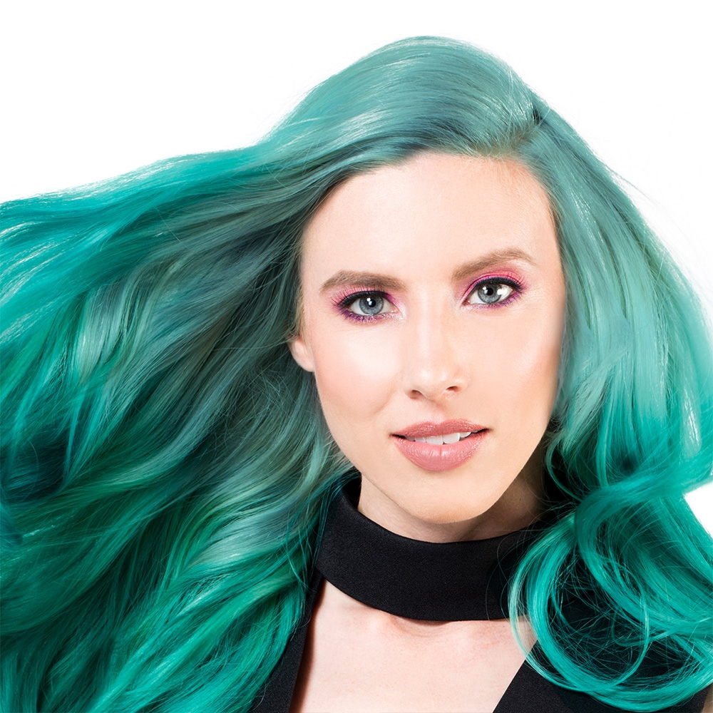 Sparks Bright Permanent Hair Color Totally Teal Beaubar Supply