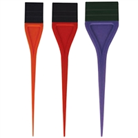 soft 'n style color tint rubber applicator brush set - 3 pc