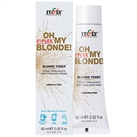 itely oh my blonde cream toner - rose gold 2.02 oz