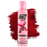 crazy color semi-permanent hair color cream - 40 vermillion red