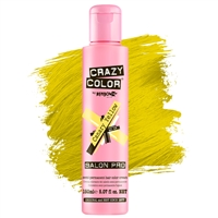 crazy color semi-permanent hair color cream - 49 canary yellow