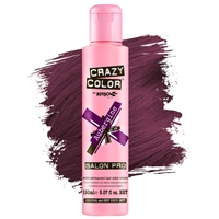 crazy color semi-permanent hair color cream - 50 aubergine