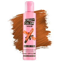 crazy color semi-permanent hair color cream - 57 coral red