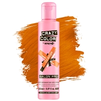 crazy color semi-permanent hair color cream - 60 orange