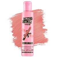 crazy color semi-permanent hair color cream - 70 peachy coral
