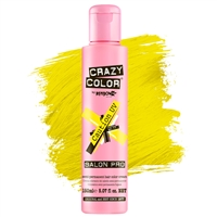 crazy color semi-permanent hair color cream - 77 caution uv