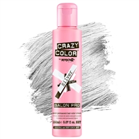crazy color semi-permanent hair color cream - 027 silver