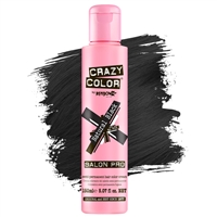 crazy color semi-permanent hair color cream - 032 natural black