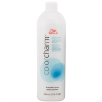 wella color charm activating lotion - 15.4 oz