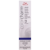 wella color charm permanent gel hair color - 12aa/1120 nordic blonde