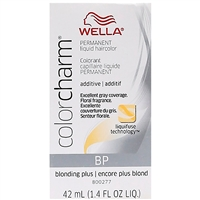 wella color charm permanent liquid hair color - additive bp blonding plus