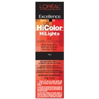 l'oreal excellence hicolor hilights permanent creme hair color - red
