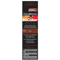 l'oreal excellence hicolor permanent creme hair color browns- h3 soft brown
