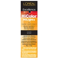 l'oreal excellence hicolor hilights permanent creme hair color - golden blonde