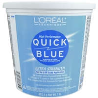 l'oreal quick blue bleach powder lightener - 1 lb