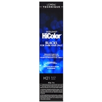 l'oreal excellence hicolor permanent creme hair color - h21 black onyx