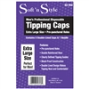 soft 'n style men's tipping caps - 5 pack