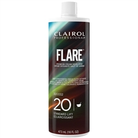 clairol flare premium 20v cream developer - 16 oz