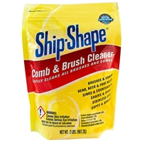 ship-shape powder comb & brush cleaner - 2 lbs