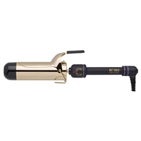 hot tools 2 spring curling iron wand 24k
